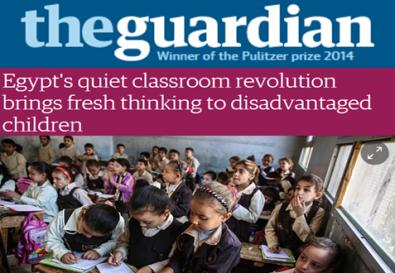 The Guardian - May 2015- http://www.theguardian.com/global-development/2015/may/11/egypt-education-mish-madrasa-classroom-revolution-saft-al-laban